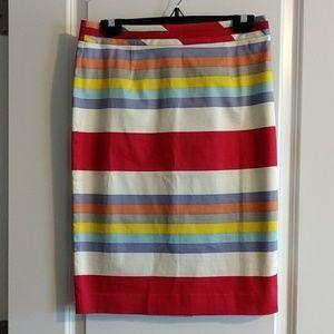 NWOT Boden Ribbon Pencil Skirt